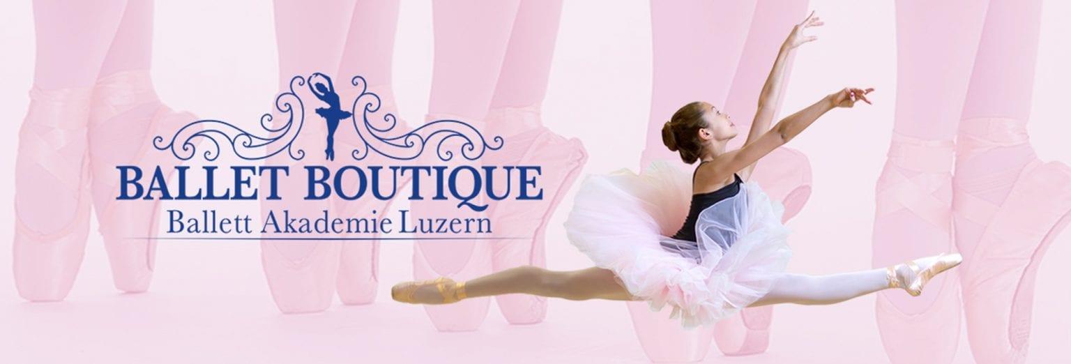 Ballet Academy Luzern, Online store background graphic