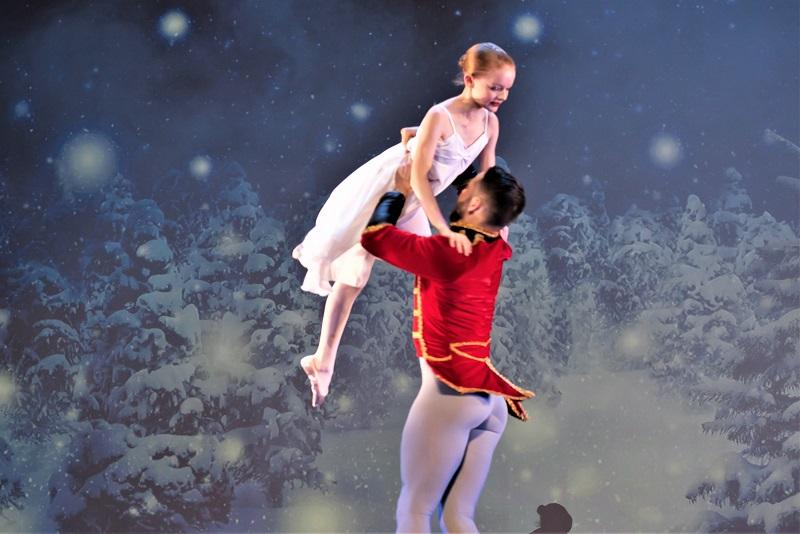 Ballett Pas de Deux Ballett Akademie Luzern