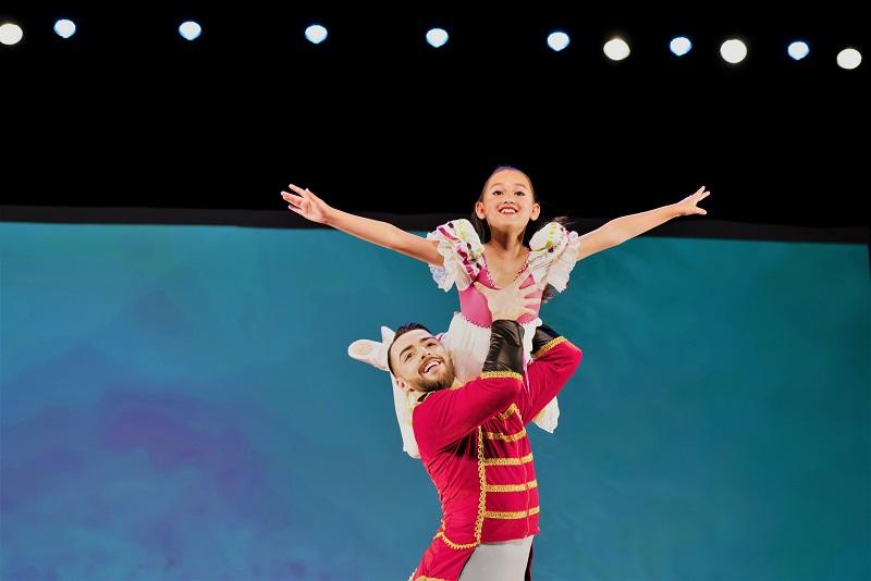 Ballett Tänzerin der Ballett Akademie Luzern