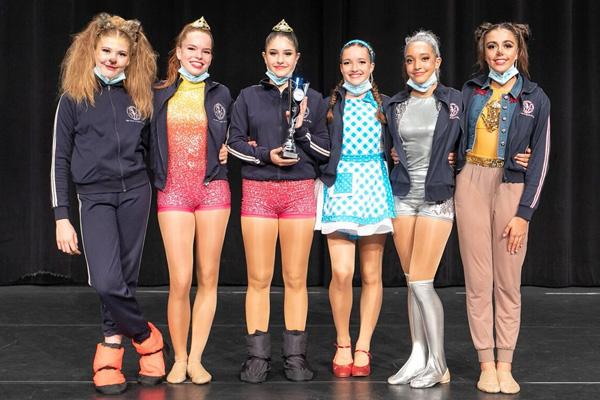 Ballet Academy Lucerne, Swiss Jazzdance Cup teen winner team