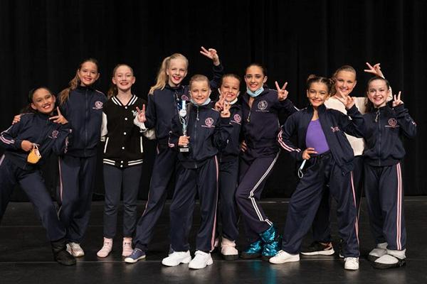 Ballet Academy Lucerne, Swiss Jazzdance Cup winner team
